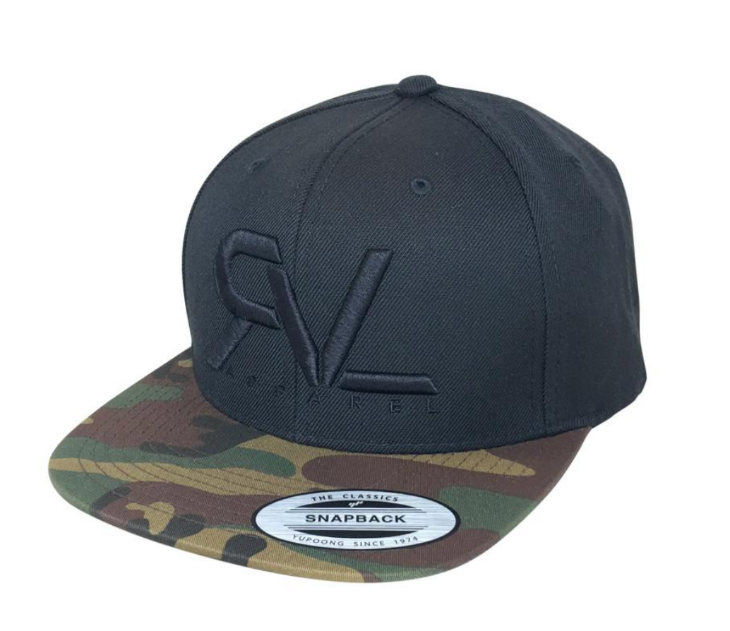 Revival Hat Original Black Camo/Black - 2 Tone