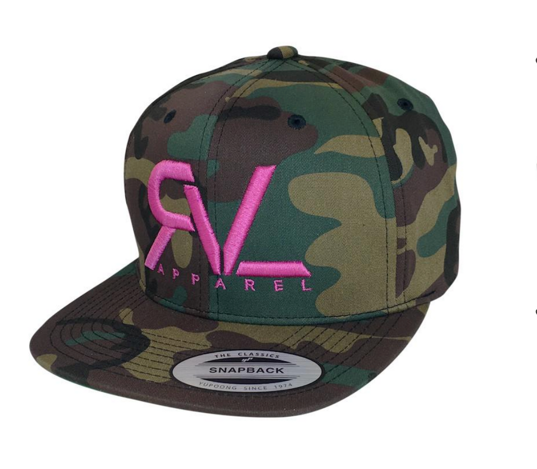 Revival Hat Original Camo/Pink