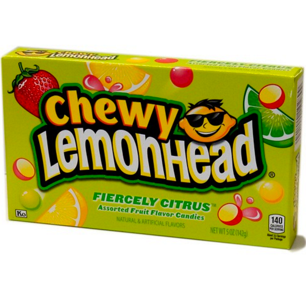Theatre Box Lemonhead Chewy  Fiercely Citrus