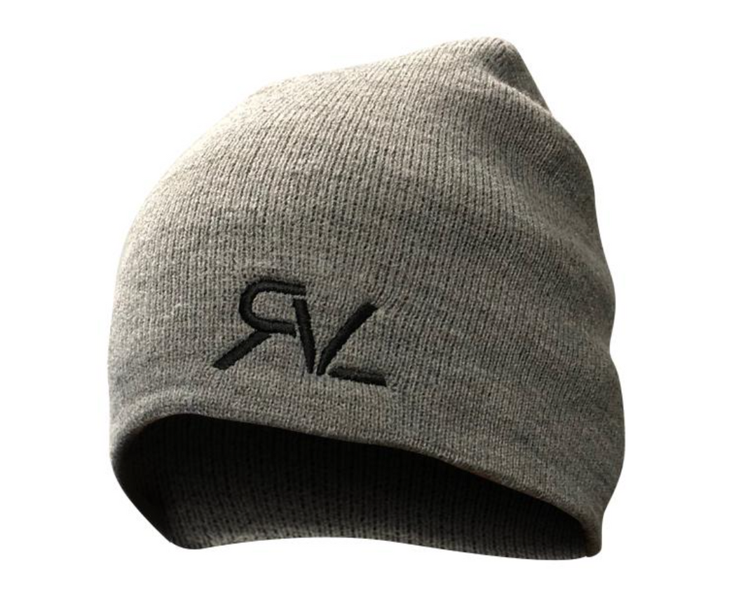 The Everyday Touque - Heather Grey/Black