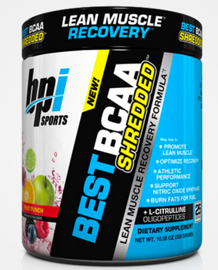 BPI Best BCAA Shredded  - Lean Muscle Recovery