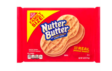 New! Nutter Butter Family Size