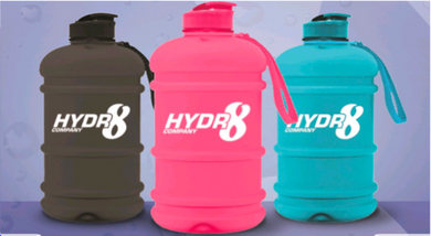 Coming Soon! Hydr8 Company 2.2L Water Bottle