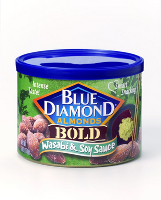Blue Diamond Almonds Wasabi & Soy Sauce