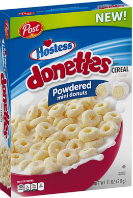 New! Hostess Donettes Cereal - 18oz