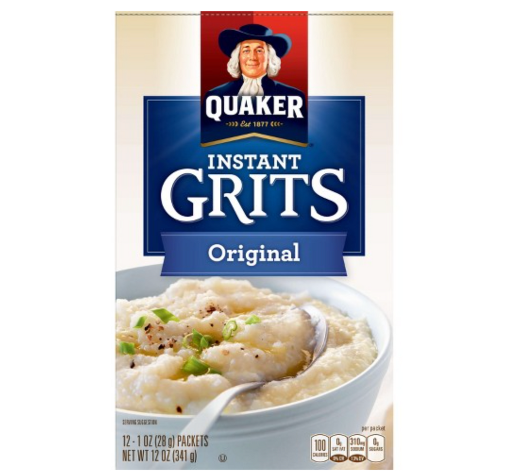New! Instant Grits Original -12ct