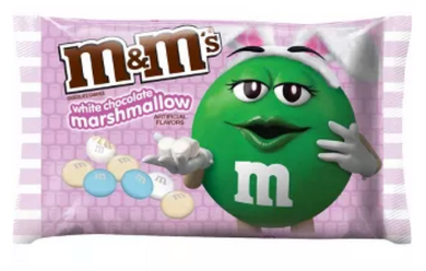 New! M&M's Limited Edition White Chocolate Marshmallow - 8oz