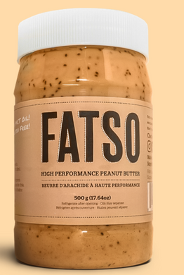 New! Fatso High Performance Peanut Butter