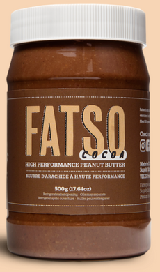New! Fatso High Performance Cocoa Peanut Butter