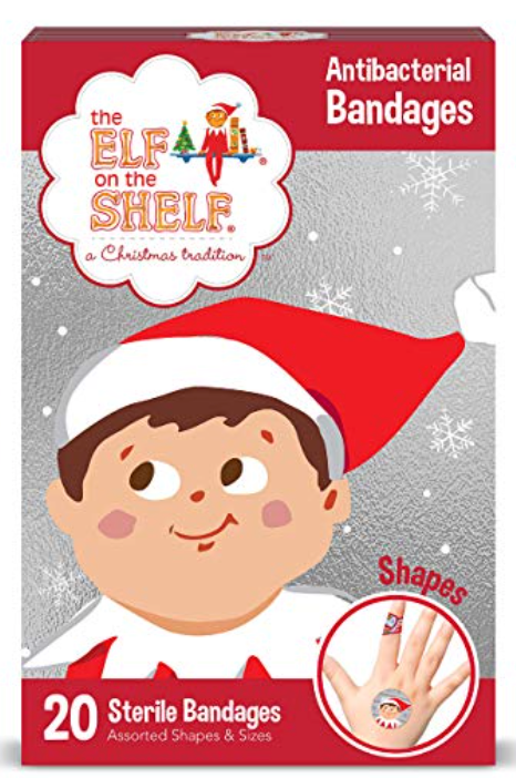 New! The Elf On The Shelf Antibacterial Bandages - 20ct
