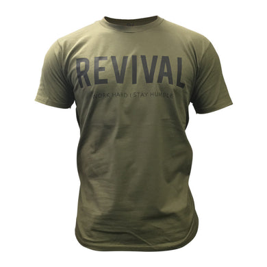 Revival Apparel Training Tee - Green