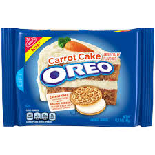 New! Oreo Limited Edition Carrot Cake