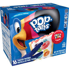 New! Pop Tarts Limited Edition Froot Loops - 16ct