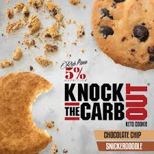 New! Knock The Carb Out Cookies - Various Flavours