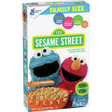 New! 1-2-3 Sesame Street ABC's with Story Book - 18oz