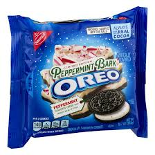 New! Oreo Limited Edition Peppermint Bark