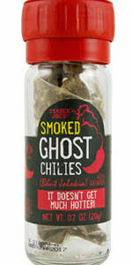 New! Trader Joe's Smoked Ghost Chilies with Built In Grinder