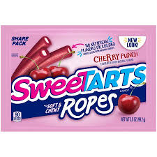 Soft & Chewy Ropes Cherry Punch 3.5oz