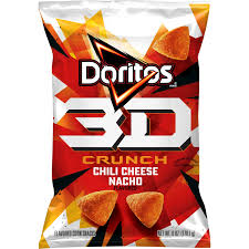 New! 3D Doritos Crunch Chili Cheese Nacho - 6.0oz