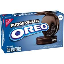 New! Oreo Fudge covered Cookies - 7.9oz