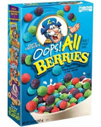 Cap'n Crunch Crunch Oops All Berries - 21.3oz