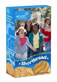 New! Girl Scouts Cookies - Shortbread - 9oz ***One Per Customer***