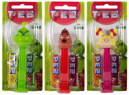 New! PEZ The Grinch Holiday Candy Dispenser with Sugar Cookie Pez