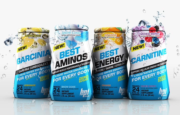 BPI Sports Water Enhancers - CARNITINE