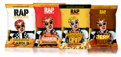 New! Rap Snacks - Various Flavours