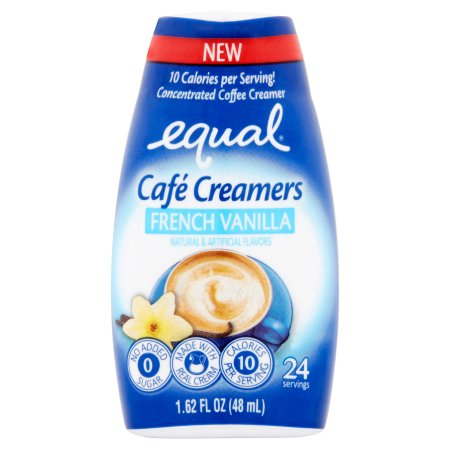 Equal Cafe Creamers French Vanilla 1.62oz