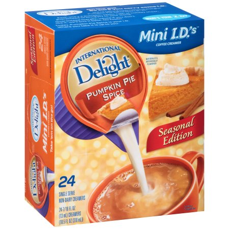International Delight Pumpkin Pie Spice Coffee Creamer - 24ct