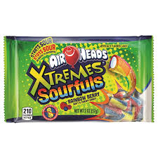 New! Airheads Xtremes Sourfuls - Rainbow Berry - 2oz
