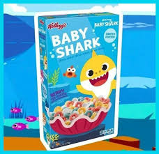 New! Baby Shark Limited Edition Berry Fin-Tastic with Marshmallows  - 13.2oz
