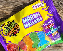 New! Sour Patch Kids Marsh Mallows - 7oz