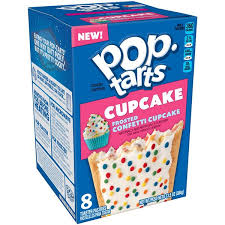 New! Pop Tarts Frosted Confetti Cupcake - 8ct