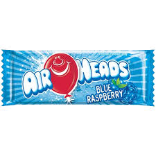 New! Air Heads Blue Raspberry Candy