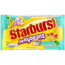 New! Starburst Jelly Beans Tropical - 14oz