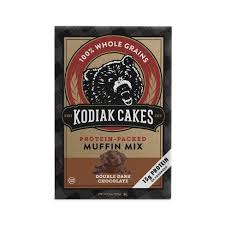 Kodiak Cakes Protein Muffin Mix Double Dark Chocolate - 14oz