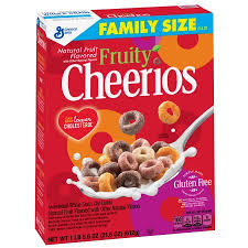 Cheerios Fruity 21oz