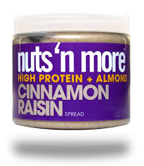 Nuts 'N More Cinnamon Raisin Almond High Protein Spread