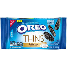 New! Oreo Latte Thins - 10.1oz