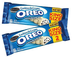 New! Milk Oreo Cookies and Creme King Size Bar