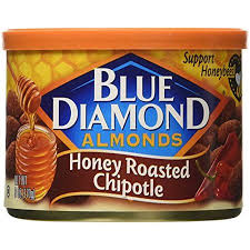 Blue Diamond Almonds Bold Honey Roasted Chipotle