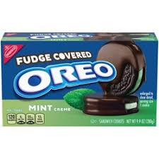 New! Oreo Mint Fudge Covered - 9.9oz SALE!