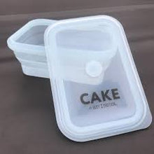 New! Lil Buff Protein Cake Mix Oven Safe Silicone Cake Container
