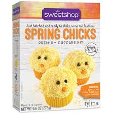 New! Sweetshop Spring Chicks Cupcake Mix Kit - SALE!