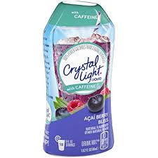 Crystal Light Liquid Sugar Free Water Enhancer with Caffeine- Various Flavours
