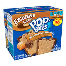 New! Pop Tarts Chocolaty Salted Caramel - 16ct