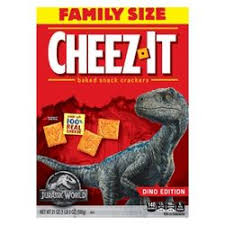 Copy of New! Cheez It Original Dino Edition Family Size