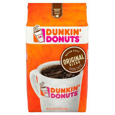 New! Dunkin Donuts Original Blend Ground Coffee - 20oz